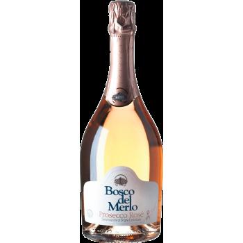 Prosecco Rosé Brut, Bosco del Merlo (75cl)